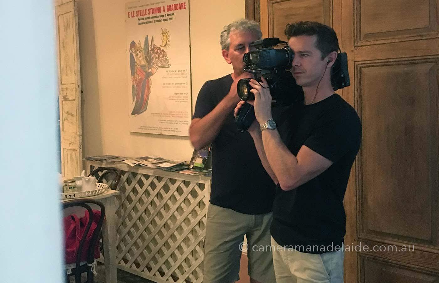 Paul_moses_filming